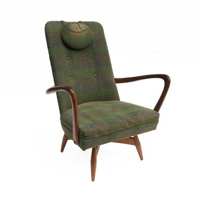 Mid Century Danish Swivel Chair, 1950s 2