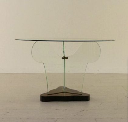 Tavolino da caffè in vetro di Pietro Chiesa, Italia, anni \'40