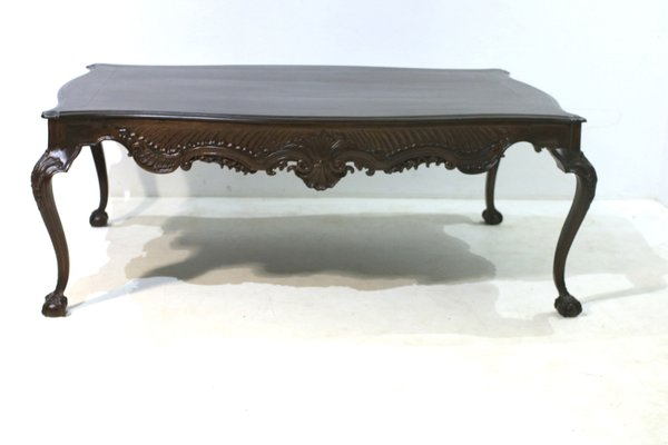 Antique Walnut Dining Table For Sale At Pamono