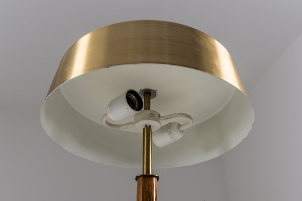 Swedish Mid Century Table Lamps In