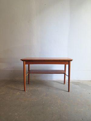 Tavolo allungabile in quercia, Danimarca, anni \'50 in vendita su Pamono