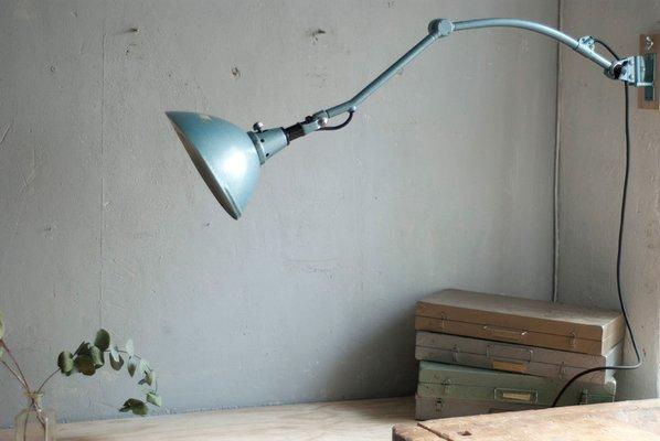 Lampada da parete regolabile di curt fischer per midgard anni 20