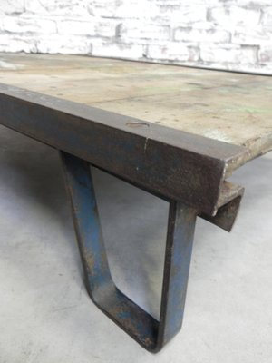 Mid Century Industrial Coffee Table 8