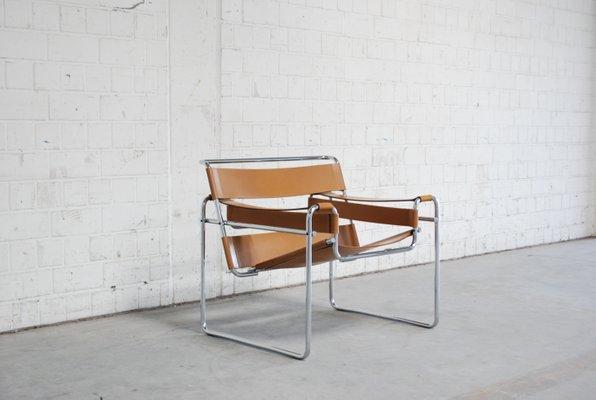 Lieblich Vintage B3 Wassily Stuhl Von Marcel Breuer Für Gavina, 1967 2