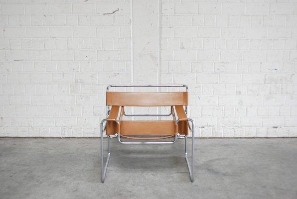 Chaise Wassily B3 Vintage Par Marcel Breuer Pour Gavina 1967 1