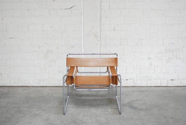 Vintage B3 Wassily Chair By Marcel Breuer For Gavina 1967 1