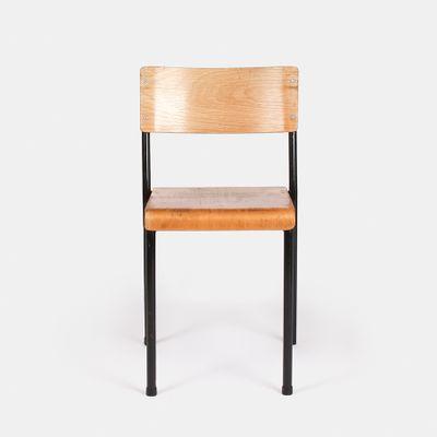 Stapelbare Vintage Stuhle Von Stride Furniture 10er Set Bei Pamono