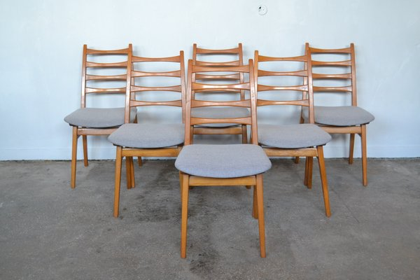 Groovy Dining Chairs From Kuhlmann Lalk 1960S Set Of 6 Gmtry Best Dining Table And Chair Ideas Images Gmtryco