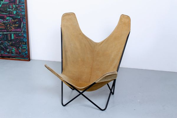 Bon Vintage Butterfly Chair By Jorge Ferrari Hardoy For Knoll 1