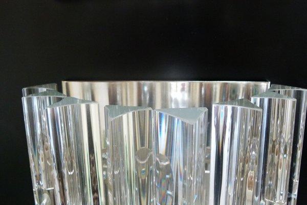 Lampada da parete vetro di murano applique lampadario sconce