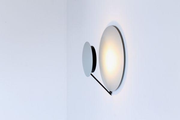 Italian Aluminium Vega Sconce by Cesaro & Amico for Tre Ci Luce ...