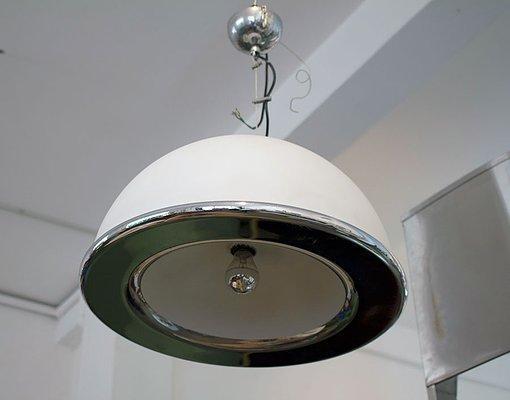 Lampada da soffitto di candle italia anni 70 in vendita su pamono