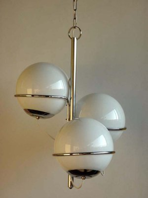 Vintage Italian E Age Ceiling Lamp 1960s 2