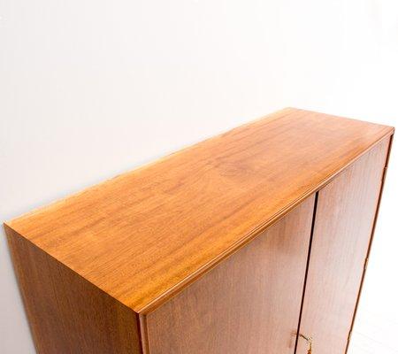 Vintage Mahogany Linen Cabinet By CB Hansen 7