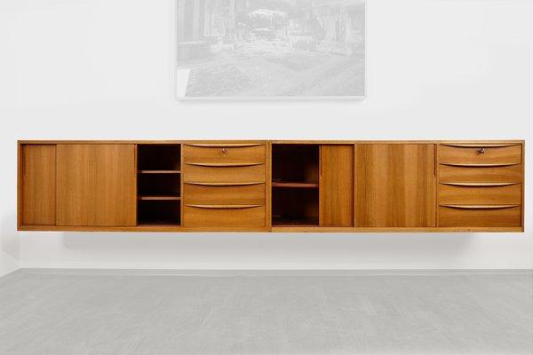 Hängende Sideboards Von Wk Möbel 1960er 2er Set Bei Pamono Kaufen
