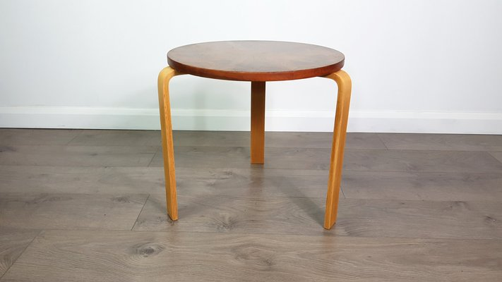 Vintage Side Table By Alvar Aalto For Artek Pascoe 1