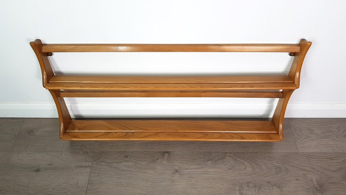 Vintage Elm Open Plate Rack by Lucian Ercolani for Ercol 2 & Vintage Elm Open Plate Rack by Lucian Ercolani for Ercol for sale at ...