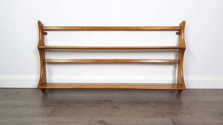 Vintage Elm Open Plate Rack by Lucian Ercolani for Ercol 1 & Vintage Elm Open Plate Rack by Lucian Ercolani for Ercol for sale at ...