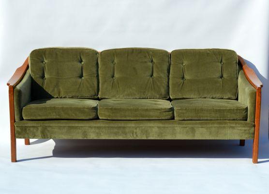 Schwedisches Teak Sofa U0026 Sessel Set, 1960er 2