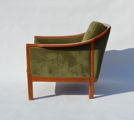Schwedisches Teak Sofa U0026 Sessel Set, 1960er 9