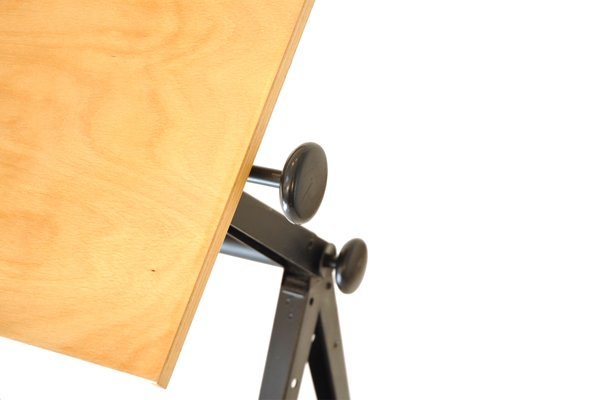 Tavolo da disegno vintage di wim rietveld friso kramer per