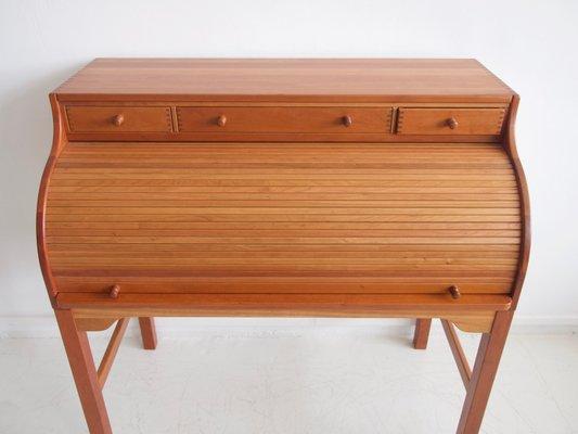 Scrivania Vintage Legno : Scrivania vintage in legno di ciliegio massiccio di andreas hansen