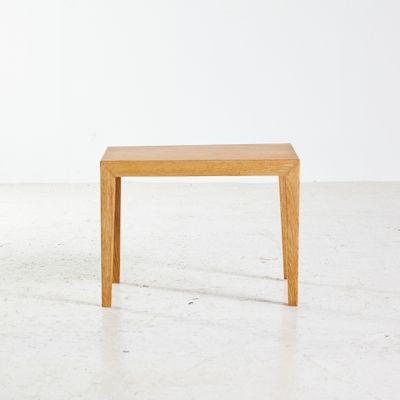 Small Danish Mid Century Side Table In Oak 1960s 1