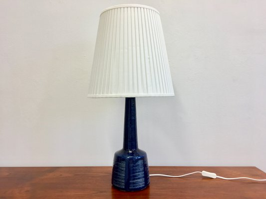 Vintage danish blue ceramic table lamp by esben klint for palshus vintage danish blue ceramic table lamp by esben klint for palshus 1 aloadofball Choice Image
