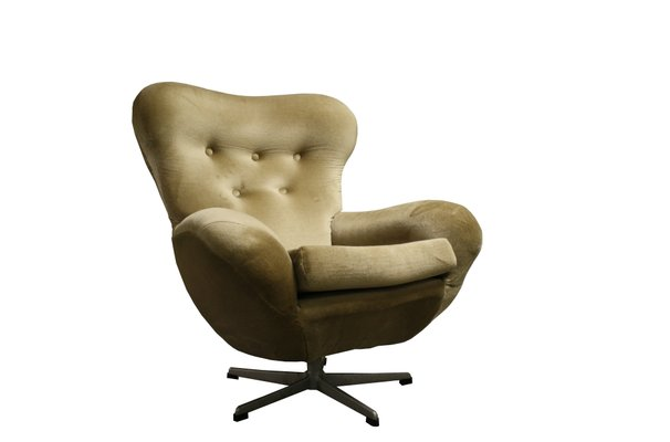 Genial Mid Century Modern Swivel Chair, 1960s