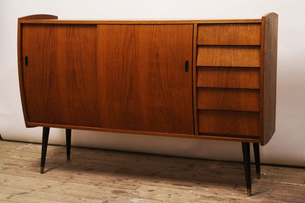Credenza Rattan Ikea : Model roulette teak sideboard from ikea for sale at pamono