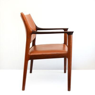 Beau Mid Century Norwegian Elton Chair By Torbjørn Afdal For Nesjestranda, 1960s  3