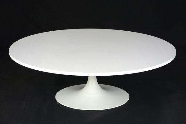 Mid Century Modern Pedestal Coffee Table 4