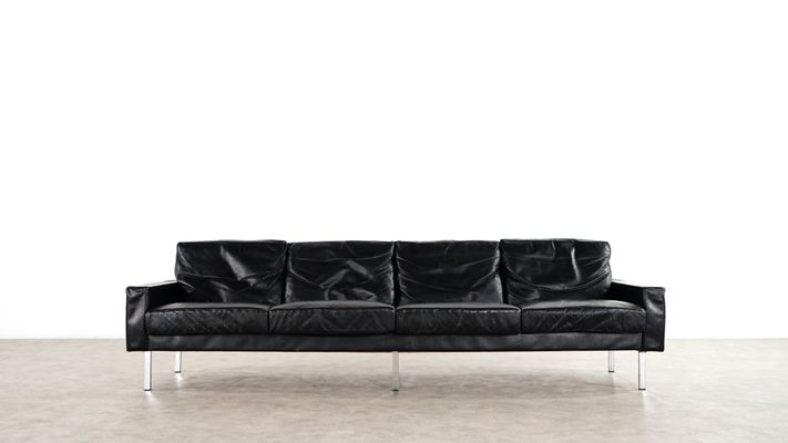 4 Seater Leather Sofa By George Nelson For Herman Miller 1962 1