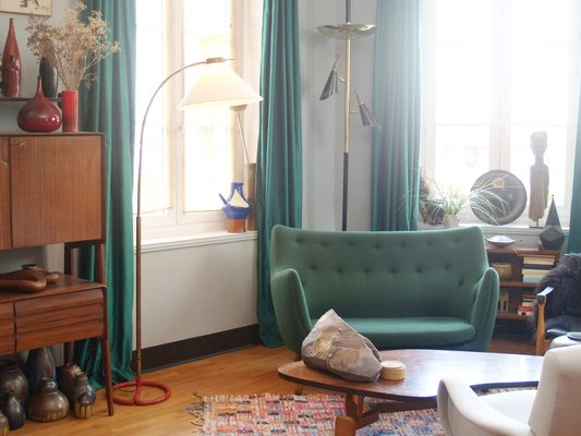 Mid Century Modern Floor Lamp From Let
