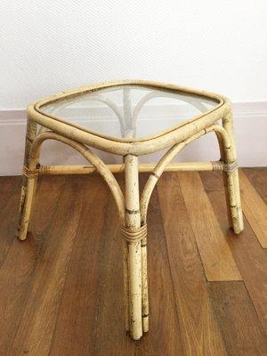 Rotin En De Table D'appoint Ikea1960s SVpMGqzU