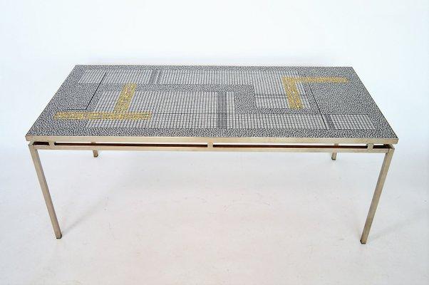 german mosaic coffee table by berthold m ller 1960s for sale at pamono rh pamono com mosaic coffee table outdoor mosaic coffee tables for sale