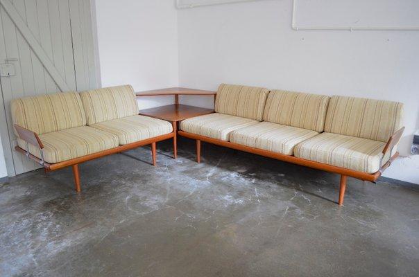 Outstanding Vintage Minerva Sofa Set By Peter Hvidt Orla Molgaard For France Daverkosen Lamtechconsult Wood Chair Design Ideas Lamtechconsultcom
