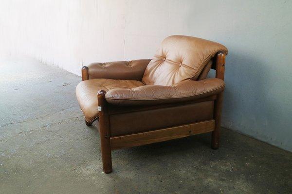 Fantastic Mid Century Norwegian Leather Lounge Chair 1960S Inzonedesignstudio Interior Chair Design Inzonedesignstudiocom