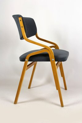 Czech Bent Plywood Chairs From Holesov, 1970s, Set Of 4 1