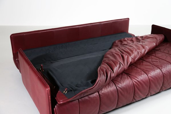 Leather Sofa Bed From De Sede 1970s
