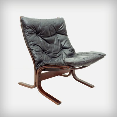 Norwegian Plywood u0026 Leather Siesta Chair by Ingmar Relling for Westnofa ... : norwegian chair - Cheerinfomania.Com