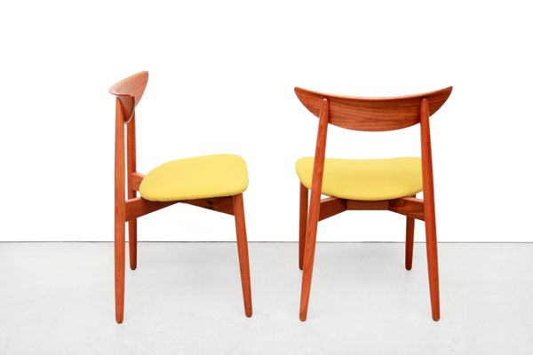 Danish Dining Room Chairs by Harry Ostergaard for Randers ...