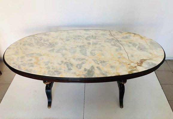 Tavolo Da Cucina In Marmo Anni 50.Tavolo Da Pranzo In Marmo Italia Anni 50 In Vendita Su Pamono