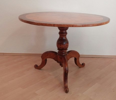 Antique Birch Veneer Dining Table For Sale At Pamono