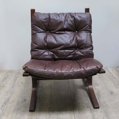 Siesta Leather Chairs By Ingmar Relling For Westnova 1960s Set Of 2 1