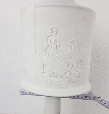 De Biscuit Transparent Hutschenreuther1970s Lithophanie Porcelaine En Lampe srtCodBhQx