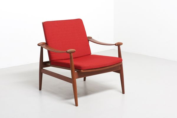 Vintage Danish Spade Chair by Finn Juhl for France and Daverkosen 1  sc 1 st  Pamono & Vintage Danish Spade Chair by Finn Juhl for France and Daverkosen ...