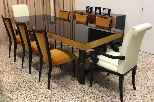Vintage Italian Dining Table, 1940s