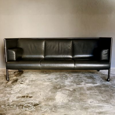 3 Seater Model 850 Danube Sofa By Ettore Sottsass For Cassina 1992
