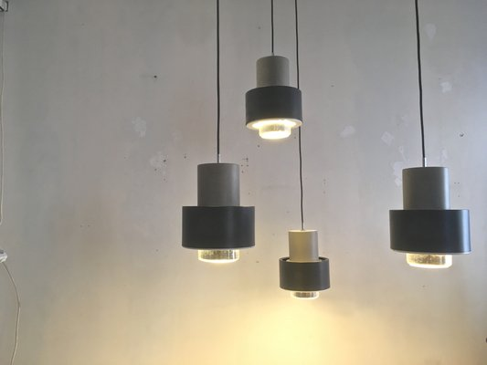 Pendant Lights From Philips 1960s Set Of 5